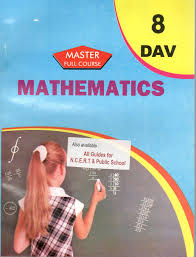 master guide dav mathematics for class 8