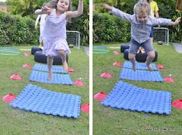 Backyard Obstacle Course Ideas Backyard Obstacle Course Be A