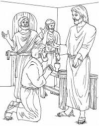 doubting thomas coloring pages az coloring pages jesus