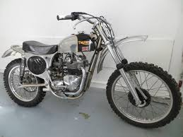 triumph motocross bike triumph i think this is a cheney framed 500 classic bikes