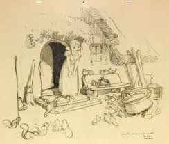 195 best snow white production sketches images on pinterest