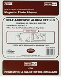magnetic photo album refill pages magnetic photo album refill sheets 10pk arts crafts