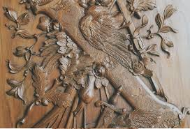 carved carved custom made wall panelling panels period style