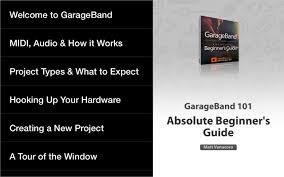 beginner guide for garageband android apps on google play
