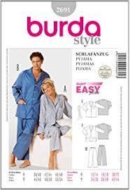 femme de chambre x butterick patterns b5667 patron de haut pantalon de pyjama et robe