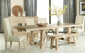 Extendable Dining Table With Bench by Carter Extension Dining Table