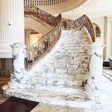 Marble Stairs | marble staircase is a great way to make a statement about your home