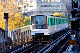 Paris Train And Metro Map by Metro