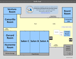 Computer Room Floor Plan Ventura County Office Of Education U003e Facilities U003e Conference And