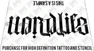 hard life carpe diem ambigram tattoo design ambigram tattoo