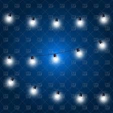 blue free light bulbs christmas lights festive light bulbs garland on blue royalty free