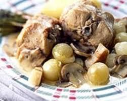 cuisine lapin au vin blanc recette lapin au vin blanc et aux chignons de
