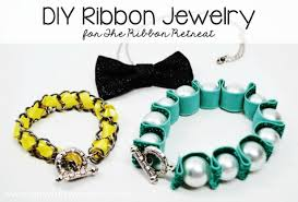 make ribbon necklace images Diy ribbon jewelry the ribbon retreat blog jpg