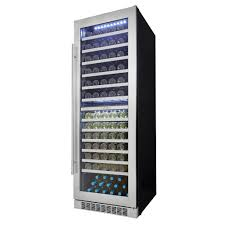 wine silhouette silhouette professional 129 bottle dual zone wine cellar