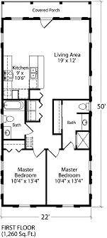 house map design 20 x 50 mango cottage coastal living southern living house plans