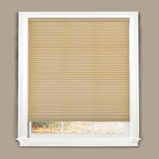 Cordless Window Shades Shop Allen Roth 34 In W X 64 In L Linen Cordless Light Filtering