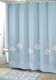 avanti sequin shells shower curtain belk