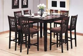 Vintage Dining Room Sets Vintage Dining Kitchen Design With Pub Style Table Sets 8 Pieces