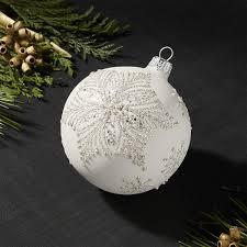 snowstar ball ornament snowflake designs ornament and artisan