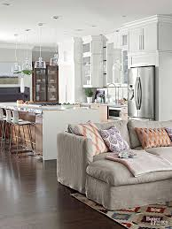 kitchen room furniture living rooms with open floor plans