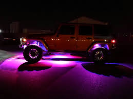jeep wrangler rock lights led under body rock lights color with bluetooth controller 4x body