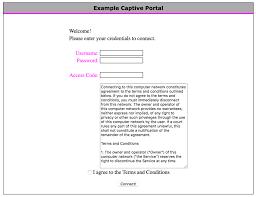 captive portal wikipedia