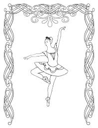 ballet shoes colouring pages fresh coloring with additional line