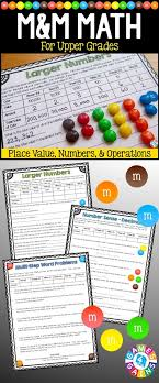 printable math games on place value place value and operations math review math with m ms halloween