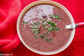 cuisiner les haricots rouges soupe aux haricots rouges kilometre 0 fr