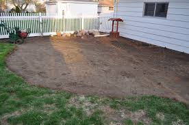 laying a paver patio carri us home diy paver patio