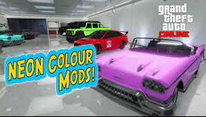 gta 5 online u0027neon u0027 paint jobs best modded colours for your