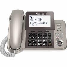 panasonic kx tgf352n corded cordless phone and answering machine