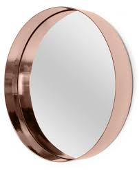 alana round mirror copper round mirrors rounding and bedrooms