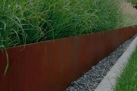 Corten Steel Planter by Design Sleuth Extra Long Corten Planter Gardenista