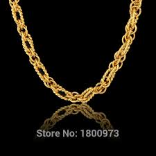 pattern gold necklace images New unique desigh heavy exquisite pattern chain for women gold jpg