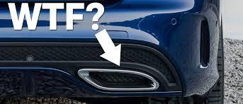 fake ferrari fail 7 fake exhaust pipes that make expensive cars look cheap