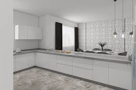 high gloss white kitchen cabinets open u shaped high gloss white simple kitchen cabinets design