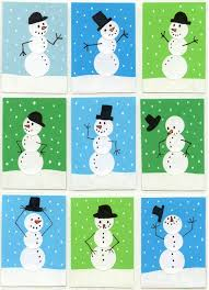 Arts And Crafts Christmas Cards - 25 unique snowman cards for kids ideas on pinterest christmas