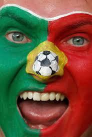 Flag Face Portugal