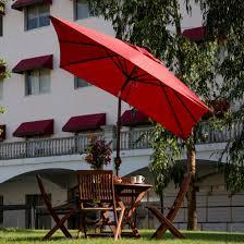 Rectangular Patio Umbrella With Solar Lights by Rectangular Patio Umbrellas With Solar Lights Patio Outdoor
