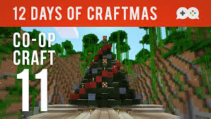co op craft ep 11 o christmas tree let u0027s play minecraft xbox