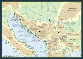 Balkans Map Metron Ariston Maps Of Ancient Balkans