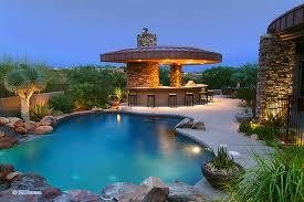 outdoor kitchen and pool interior u0026 exterior doors