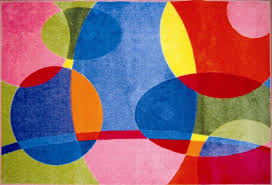 Fun Rugs For Kids Cool Colorful Groovy Dots Rug Home Interior Decor Ideas