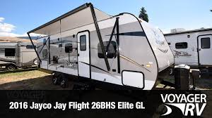 Rv Awnings Canada 2016 Jayco Jay Flight 26bhs Elite Gl Travel Trailer Tour At