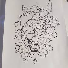 best 25 oni mask tattoo ideas on pinterest oni tattoo hannya