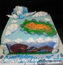 king cake babies lion king cake for baby shower you may enter details and