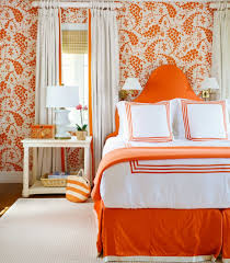bedroom interesting and relaxing orange bedroom color ideas with