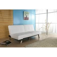jacksonville white foldable futon sofa bed free shipping today