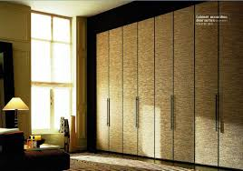 furniture white folding closet doors with silver handle on white